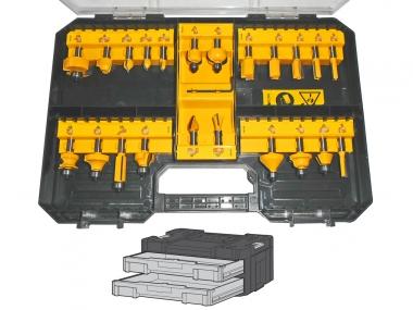 DeWALT DT90017 zestaw frezy wiertła drewno x22