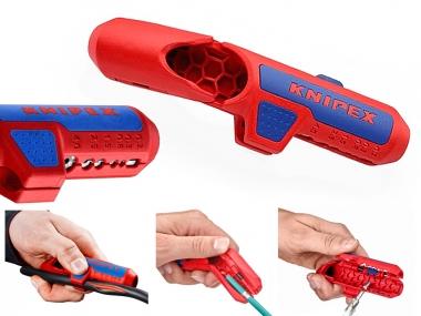 KNIPEX ErgoStrip 169502 nóż ściągacz izolacji leworęczny 8-13mm