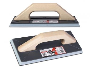 RUBI SuperPro 65975 paca gumowa uchwyt drewno 25x11cm