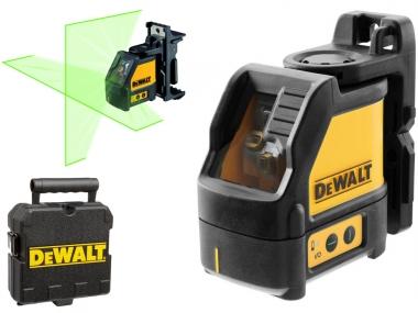 DEWALT DW088CG laser krzyżowy zielony walizka