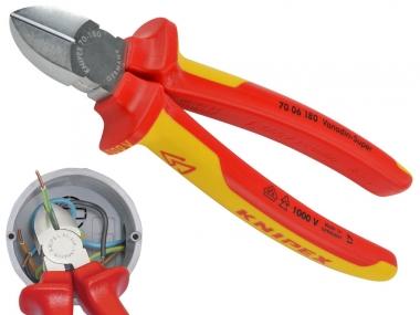 KNIPEX 7006180 szczypce boczne 180mm VDE
