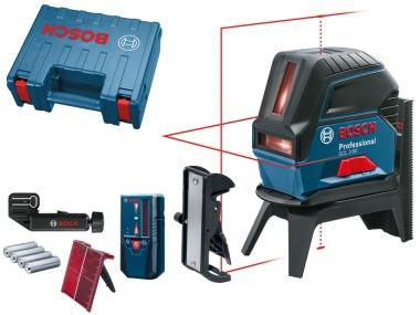 BOSCH GCL 2-50 laser krzyżowy punktowy LR6