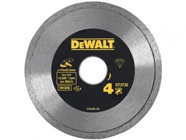 DeWALT DT3735 tarcza diamentowa do płytek 115mm
