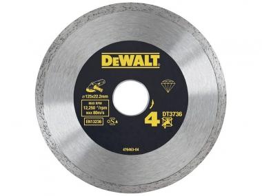 DeWALT DT3736 tarcza diamentowa do płytek 125mm