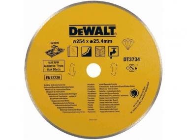 DEWALT DT3734 tarcza diamentowa beton 254/25,4mm