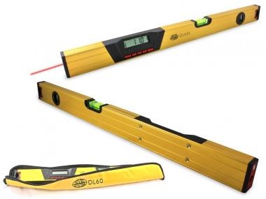 NIVEL SYSTEM DL 60 L poziomica elektroniczna 60cm laser