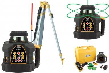 NIVEL SYSTEM NL400G laser obrotowy ZIELONY statyw łata