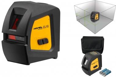 NIVEL SYSTEM CL1G laser krzyżowy ZIELONY