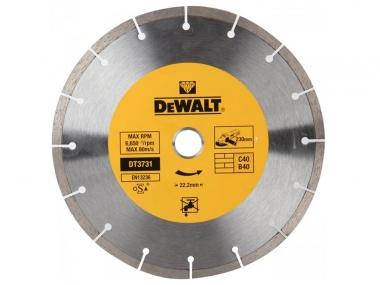 DeWALT DT3731 tarcza diamentowa  230 / 22,2 mm