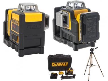 DEWALT DCE0811D1R laser krzyżowy + statyw