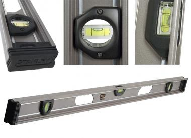 STANLEY 42-134 poziomica aluminiowa 120cm 3 libelle