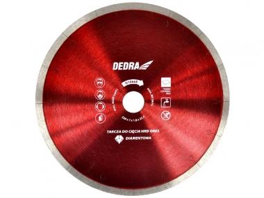 DEDRA H1066E tarcza diamentowa do gresu 230mm / 25,4mm
