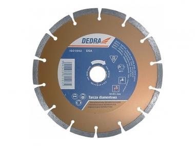 DEDRA H1107 tarcza diamentowa beton kamień 125mm / 22,2mm