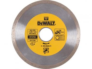DEWALT DT3703 tarcza diamentowa glazura 115 / 22,2mm