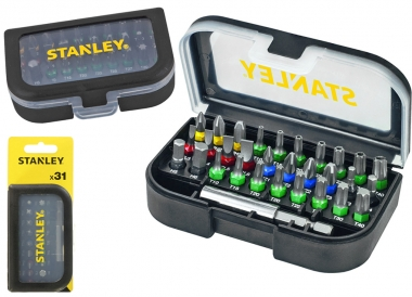 STANLEY STA60490 zestaw bity adapter 31 sztuk