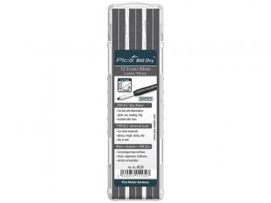PICA 6030 ołówek stolarski automatyczny - wkłady uniwersalne grafit 12 sztuk
