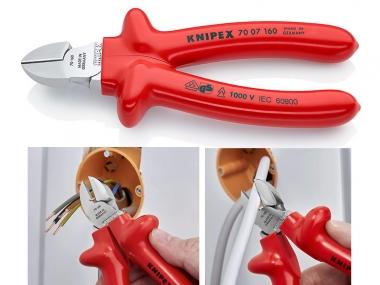 KNIPEX 7007160 szczypce boczne 160mm