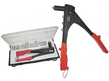HAUPA 210776 Set nitownica ręczna + nity 100 sztuk