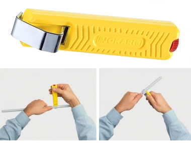 JOKARI Nr 27 nóż izolacji okrągłej 2-28mm