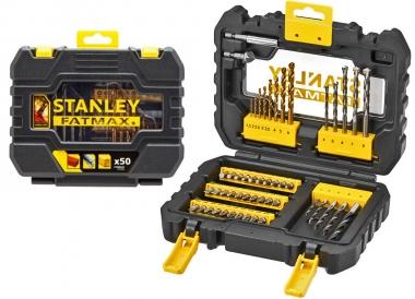 STANLEY STA88542 zestaw bity wiertła 50 sztuk