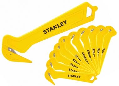 STANLEY 10-355-1 nóż z hakiem bezpieczny pakowy 10 sztuk