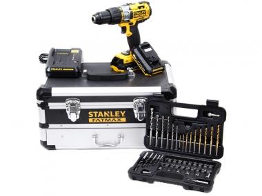 STANLEY FMCK625D2F wkrętarka udarowa 51Nm 18V + osprzęt