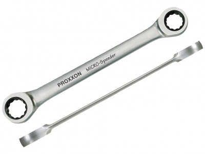 PROXXON 23249 klucz dwuoczkowy z grzechotką 16x18mm