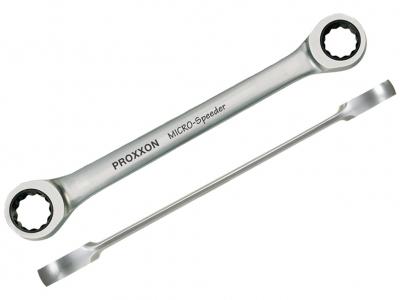 PROXXON klucz dwuoczkowy z grzechotką 17x19mm