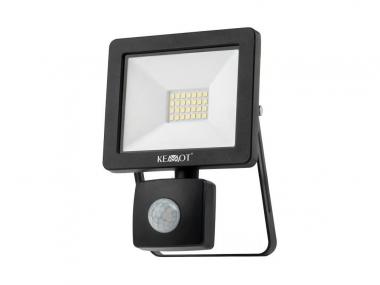 KEMOT URZ3477 lampa reflektor LED 20W z sensorem zmierzchu