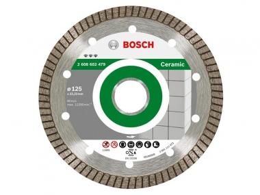 BOSCH CERAMIC tarcza diamentowa do płytek 125mm