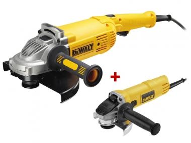 DEWALT DWE492 DWE4157 szlifierka kątowa 230mm + 125mm