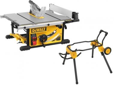 DEWALT DWE7492 pilarka stołowa piła 250mm + podstawa