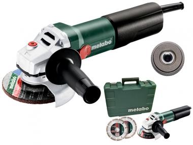 METABO WEQ 1400-125 SET szlifierka kątowa 125mm 1400W