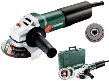METABO WQ 1100-125 SET szlifierka kątowa 125mm 1100W