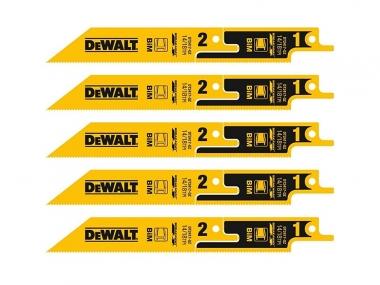 DeWALT DT2417 brzeszczot do metalu piła szablasta 152mm 5 sztuk