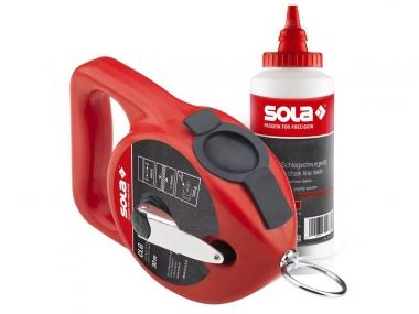 SOLA CLG 30 SET RED sznur traserski 30m