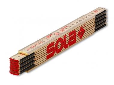 SOLA H2/10 miara miarka składana drewniana 2m