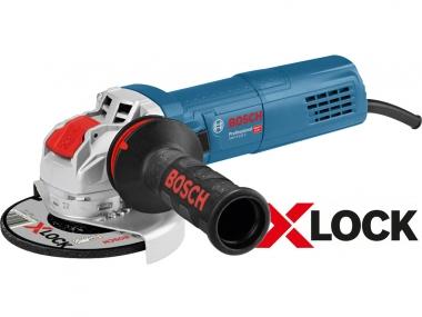 BOSCH GWX 9-125 S szlifierka kątowa 125mm 900W X-LOCK