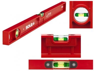 SOLA PF40 poziomica ABS plastic 2 libelle 40cm