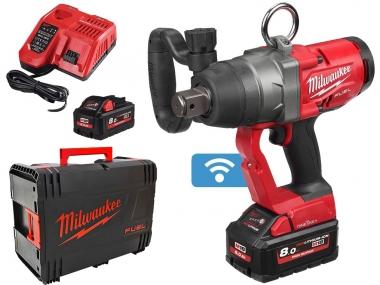 MILWAUKEE M18 ONEFHIWF1-802X klucz udarowy 1'' 2400Nm 18V 2x8,0Ah