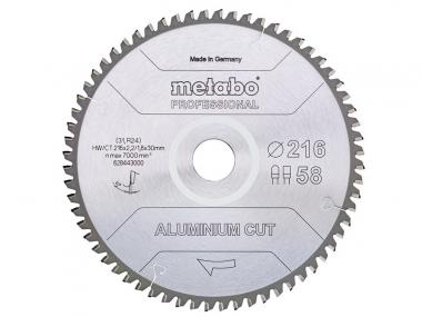 METABO 28-443 Aluminium Cut tarcza do aluminium 58z 216mm