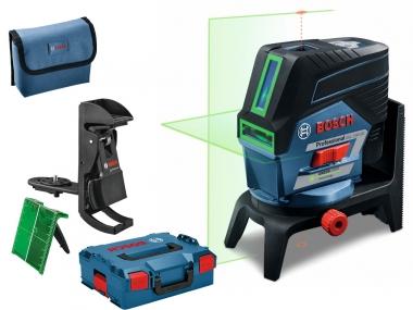 BOSCH GCL 2-50 CG laser krzyżowy punktowy ZIELONY