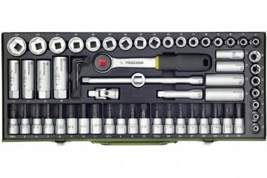 PROXXON 23112 klucze nasadki grzechotka x65 zestaw