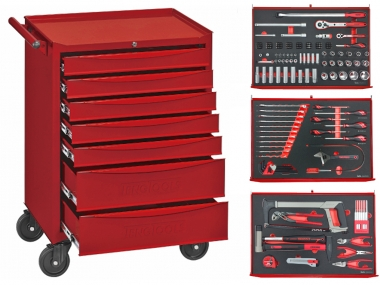 TENGTOOLS 177 wózek szafka z narzędziami 7 szuflad