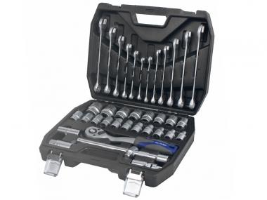 ADLER 3553.7 grzechotka  klucze nasadki 1/2 x37 zestaw