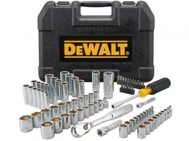 DeWALT DWMT81531 grzechotka nasadki 1/4 3/8 x84 zestaw