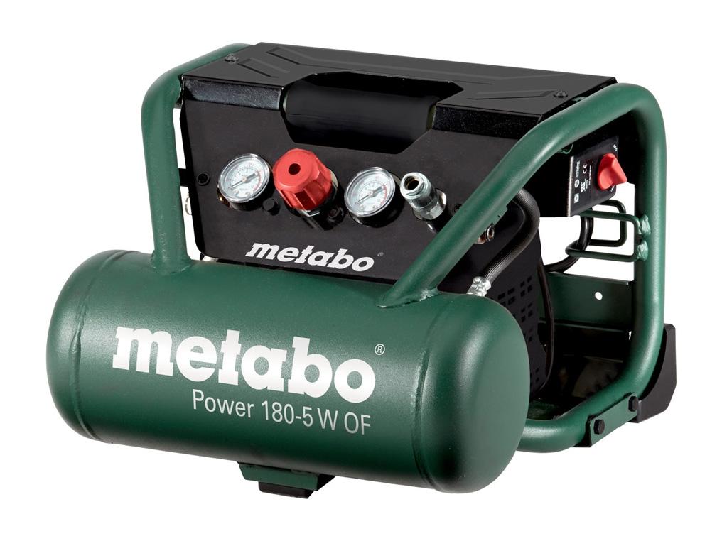 METABO POWER 180-5 W OF sprężarka bezolejowa 5 L