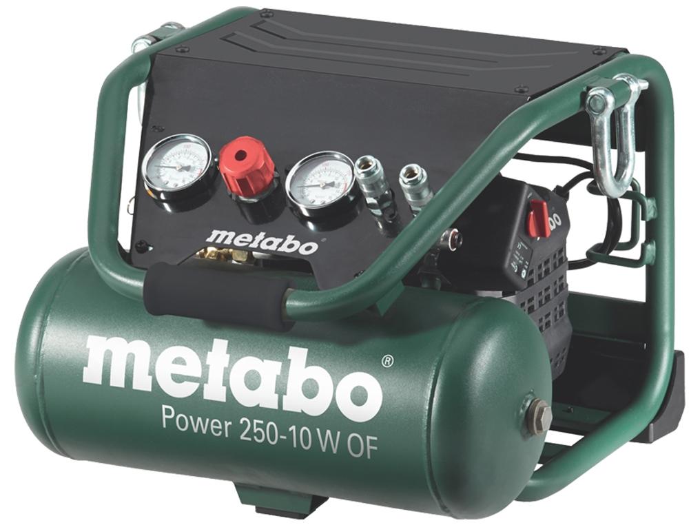 METABO POWER 250-10 W OF sprężarka bezolejowa 10 L