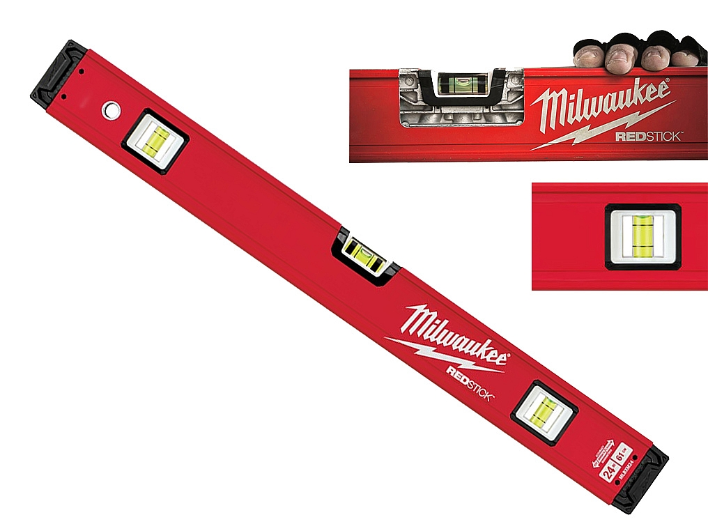 MILWAUKEE REDSTICK poziomica alum 60cm