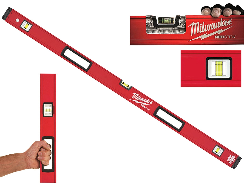 MILWAUKEE REDSTICK poziomica alum 120cm